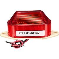 sourcing map luz de advertencia LED intermitente lámpara