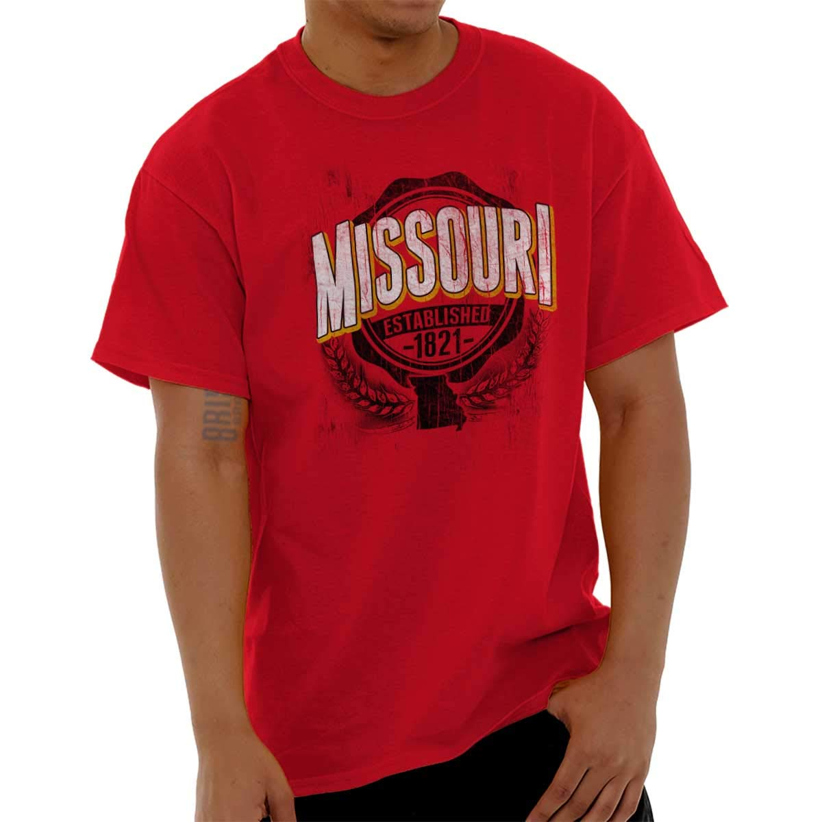 State Of Missouri Game Day Student Banner T Shirt Tee 7530