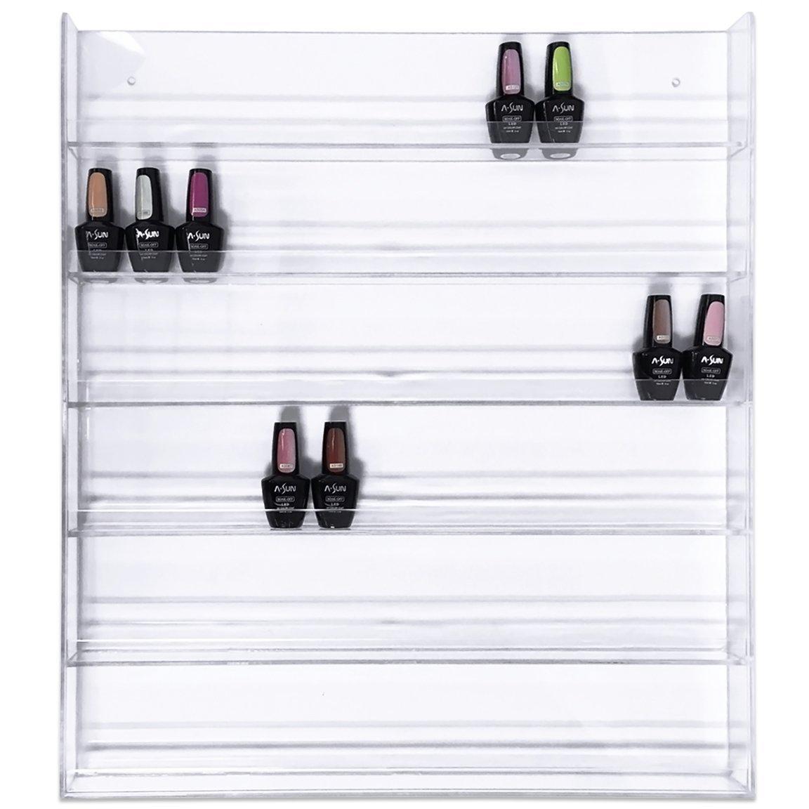 96 Bottle Nail Polish Wall Rack Display
