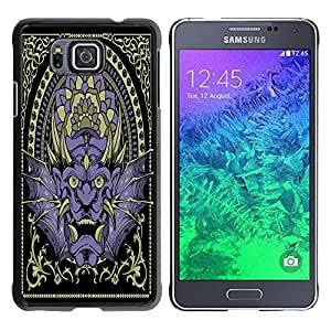 Dragon Case - FOR Samsung ALPHA G850 - you want to die - Caja protectora de pl??stico duro de la cubierta Dise?¡Ào Slim Fit