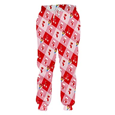 a459423693b8e Ticefsirs Men's Christmas Sweatpants 3D Printed Stockings Lovers ...