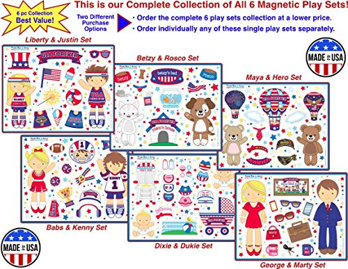 USA Forever All-American Family Magnetic Play Sets & Puzzles Collection by USA Forever (Image #7)