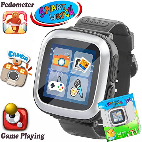Kids Game Smart Watch [AR Enhanced Edition] for Girls Boys Wristwatch with Camera Pedometer Timer Alarm Clock Fitness Tracker Gifts for 3-12 Years Children Summer Outdoor Learning Toys School Travel by iGeeKid