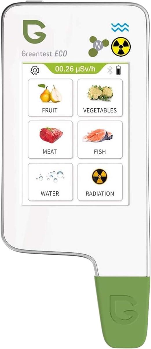 fruits l/égumes Greentest ECO 6 Testeur de nitrate num/érique /à lecture instantan/ée TDS PPM D/étecteur de radiantion Geiger compteur combo pour viande fra/îche