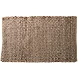 Luxzura Jute Area Rug – Chunky Handwoven Pattern, Natural, Durable & Reversible, Door Entry (2×3, Natural) Review