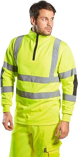 Portwest Workwear Mens Xenon Rugby Sweatshirt
