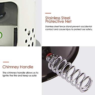cherrysong Portable Indoor/Outdoor Kerosene Heater Stove, Camping Stove, Kerosene Stove Burner Camping Oil Heaters, Big Power Windproof Camping Stove, ...