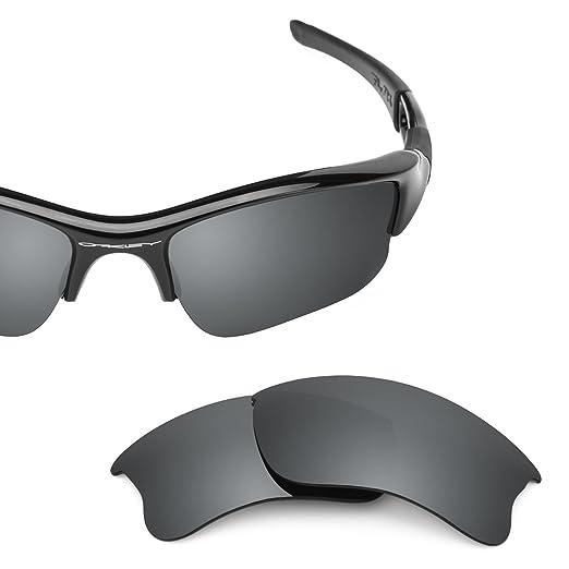 Revant Polarized Replacement Lenses for Oakley Flak Jacket XLJ (Asian Fit)  Elite Black Chrome 6f2ae9d587be