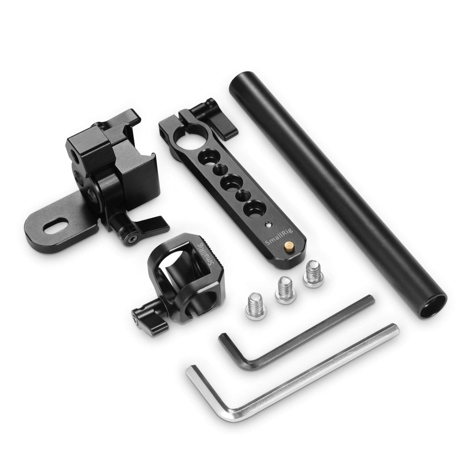 Smallrig 2075 EVF Support with NATO Rail and 15mm Rod for...