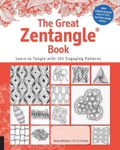 Book : The Great Zentangle Book: Learn To Tangle With 101...