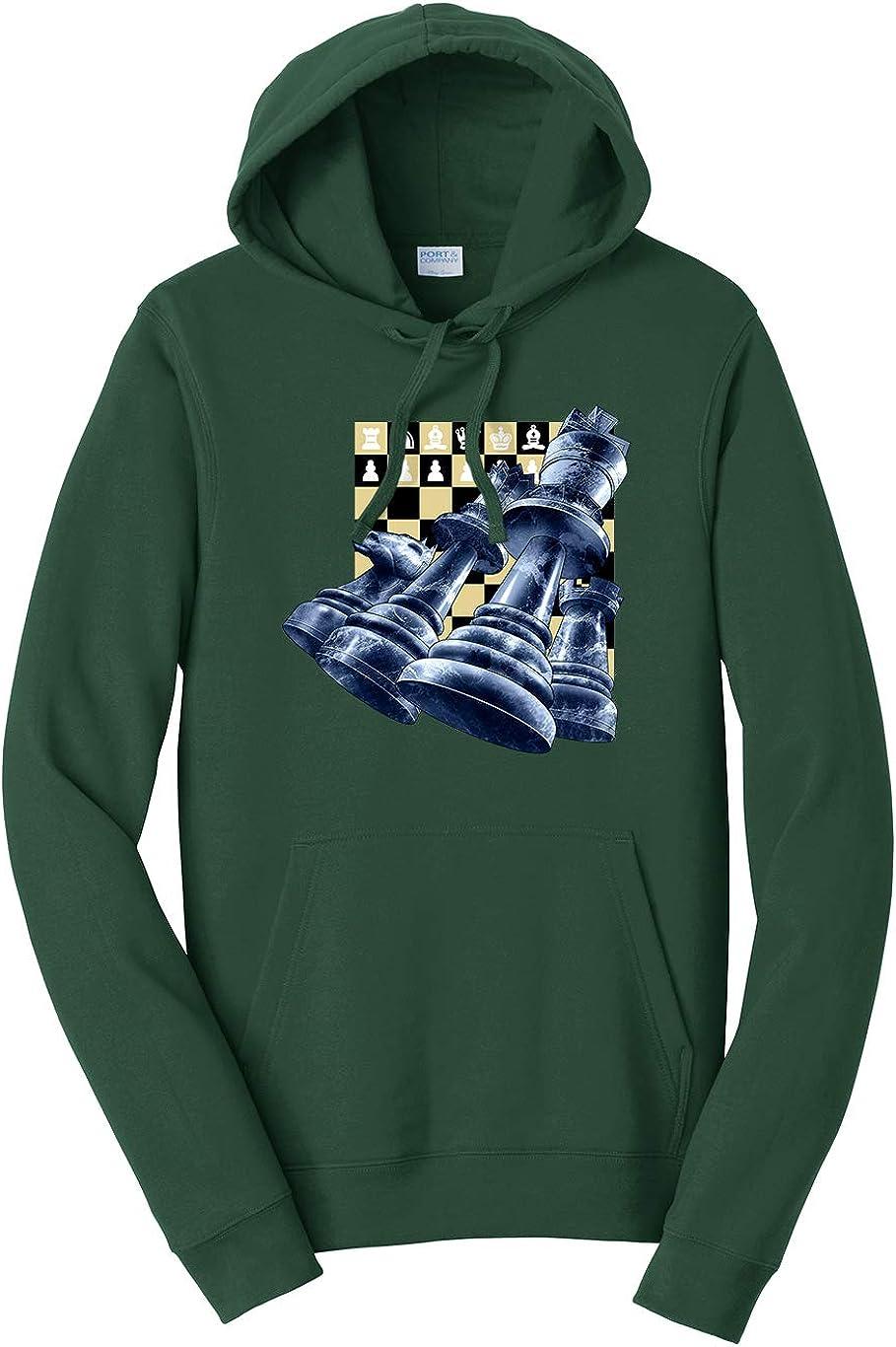 Tenacitee Unisex Chess Pieces Hooded Sweatshirt