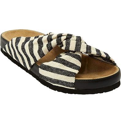 bceb094ee1ff The Reese Footbed Sandal - Black