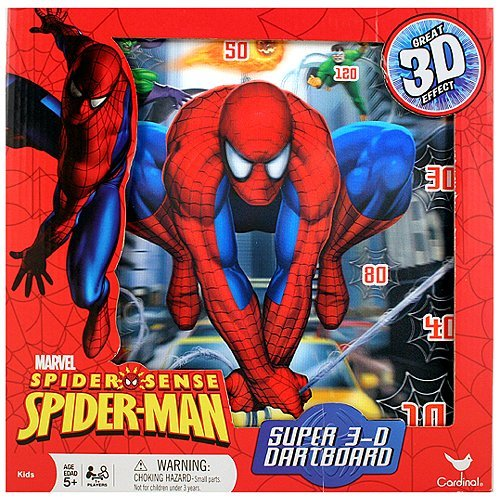 Spider-Sense Spider-Man Super 3D Dartboard by Spider-Man