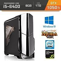 Computador Gamer Neologic Moba Box NLI64488 Intel Core i5-6400 8GB (GeForce GTX 1050Ti 4GB) 1TB Windows 10