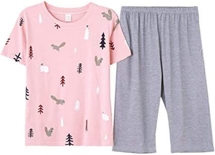Pijamas para Mujer, Pijama De Algodón para Mujer Ropa De Dormir ...