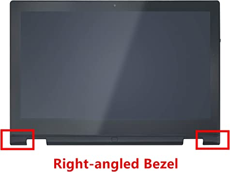 AUO Dell Inspiron 13 7352 7353 7359 FHD Touch LCD Screen Digitizer Bezel Assembly