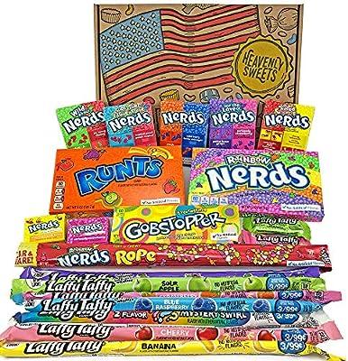 Cesta Americana caramelos Wonka | Golosinas y barra de caramelos ...