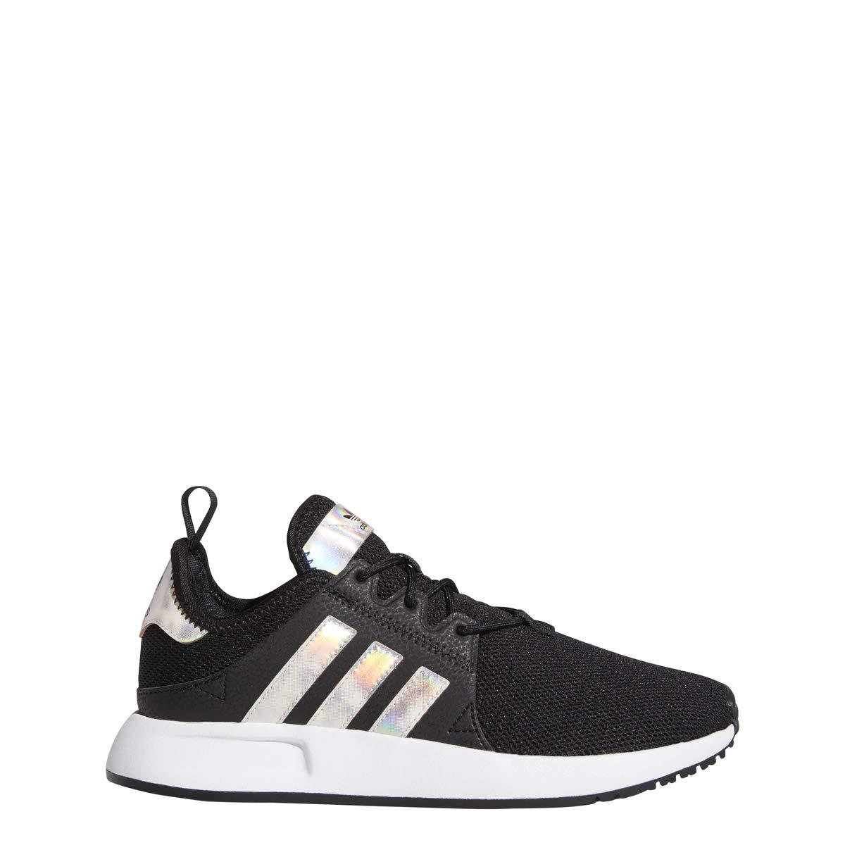 new style 13be5 7753e Amazon.com   adidas Girls X PLR J Sneaker (6 M US Big Kid, Blk Metallic)    Sneakers