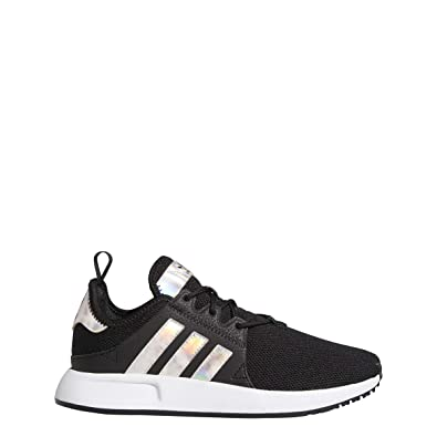 adidas Girls X_PLR J Sneaker (6 M US Big Kid, Blk/Metallic)