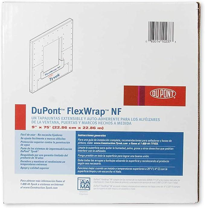 x 75 ft DuPont Tyvek 4 in Self-Adhesive Flashing Tape