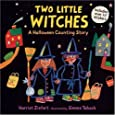 Two Little Witches: A Halloween Counting Story Sticker Book