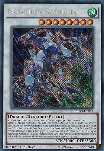 Kristallflügel-Synchrodrache - SHVI-DE049 - Yu-Gi-Oh - deutsch - 1. Auflage - NIFAERA Spielwaren Yugi oh! Konami