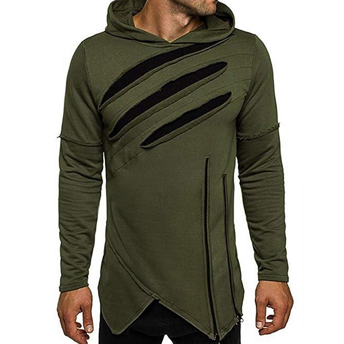 Betrothales Moda Suéteres Camisetas para Sudaderas Shirts Hombre Camisa Agujero: Amazon.es: Ropa y accesorios