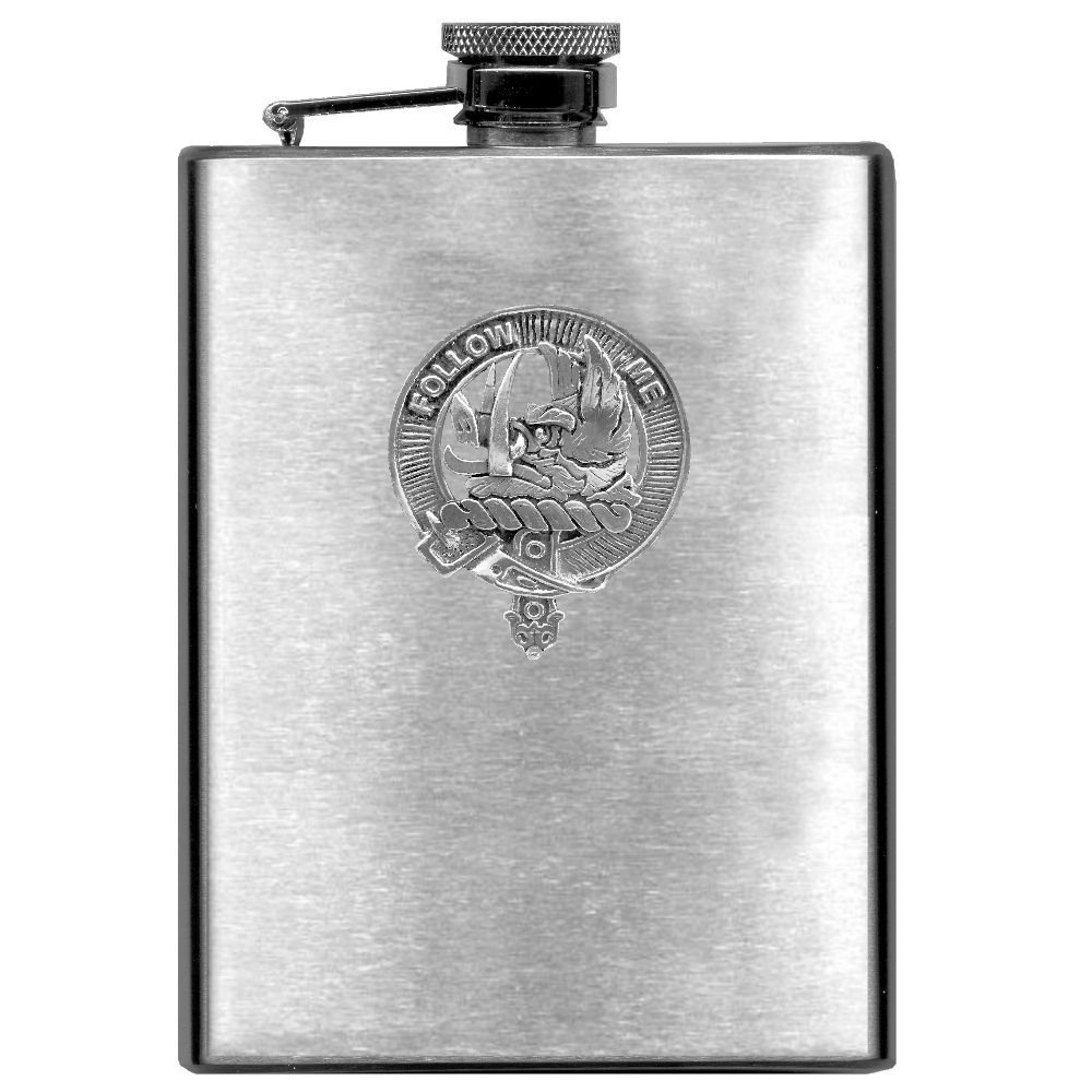 Campbell (Breadalbane) Scottish Clan Stainless Steel 8oz Flask