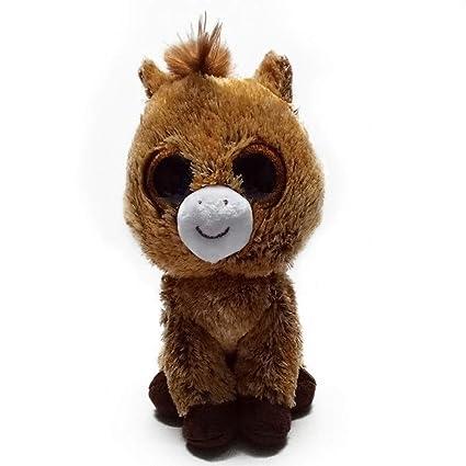 JEWH Ty Beanie Boos - Plush Animal Doll / Toy Owl, Unicorn, Cat,