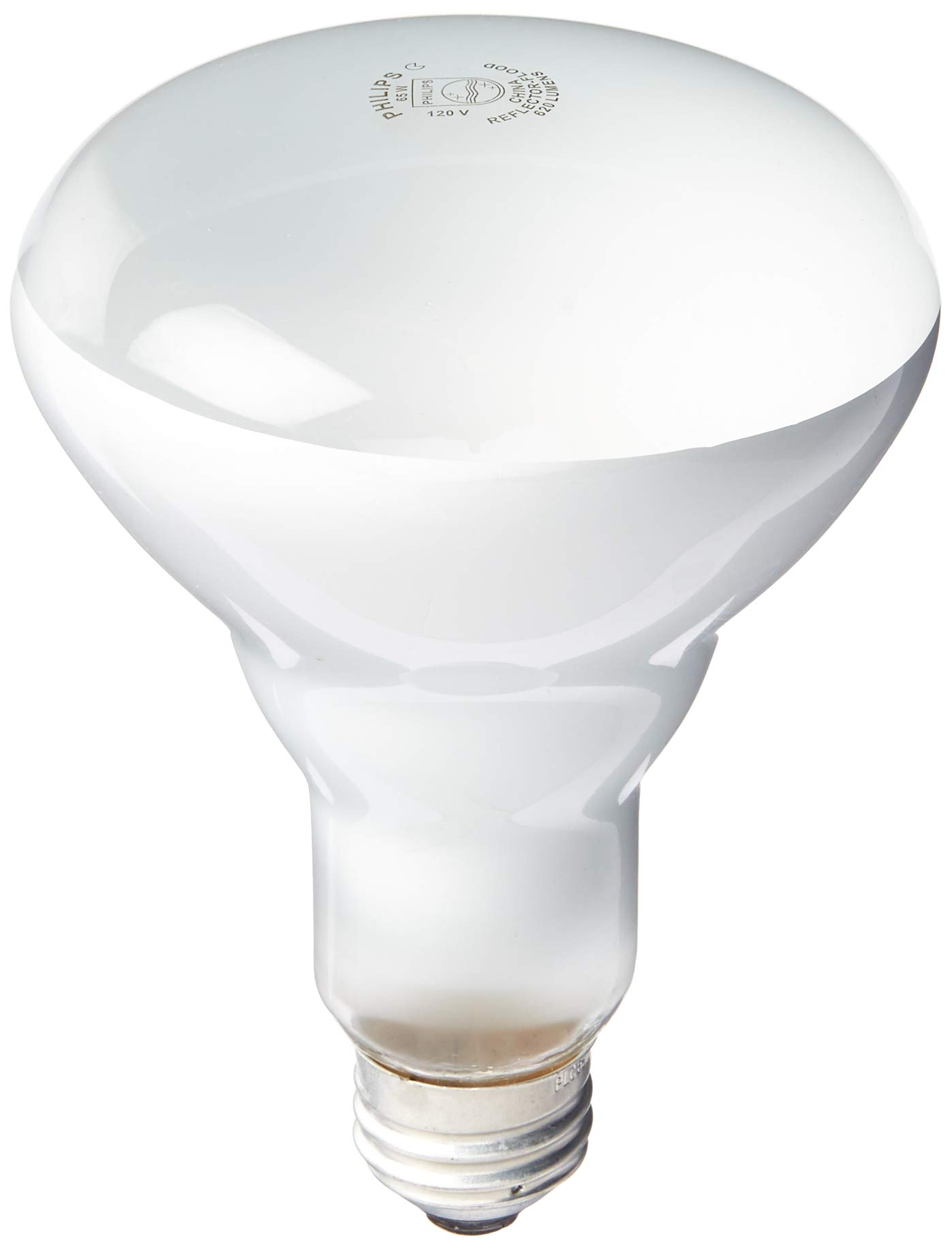 Philips Phillips 408662 Soft White 65-Watt BR30 Indoor Flood Light Bulb, 4-Pack by PHILIPS