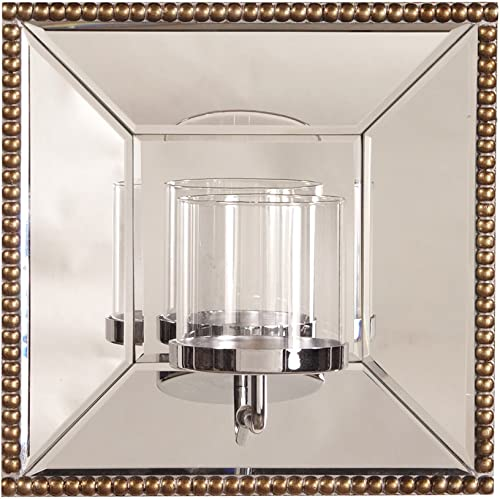 Howard Elliott Lydia Square Hanging Wall Accent Mirror