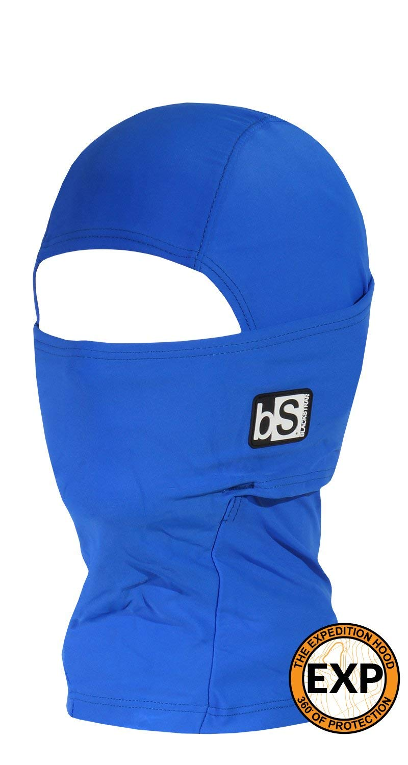 BlackStrap Kids Expedition Hood Dual Layer Balaclava Face Mask, Cold Weather Headwear for Children, Royal Blue
