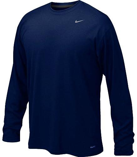 Nike Mens Legend Poly Long Sleeve Shirt
