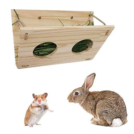 Nishci Alimentador de Heno, Pequeños Suministros para Mascotas ...