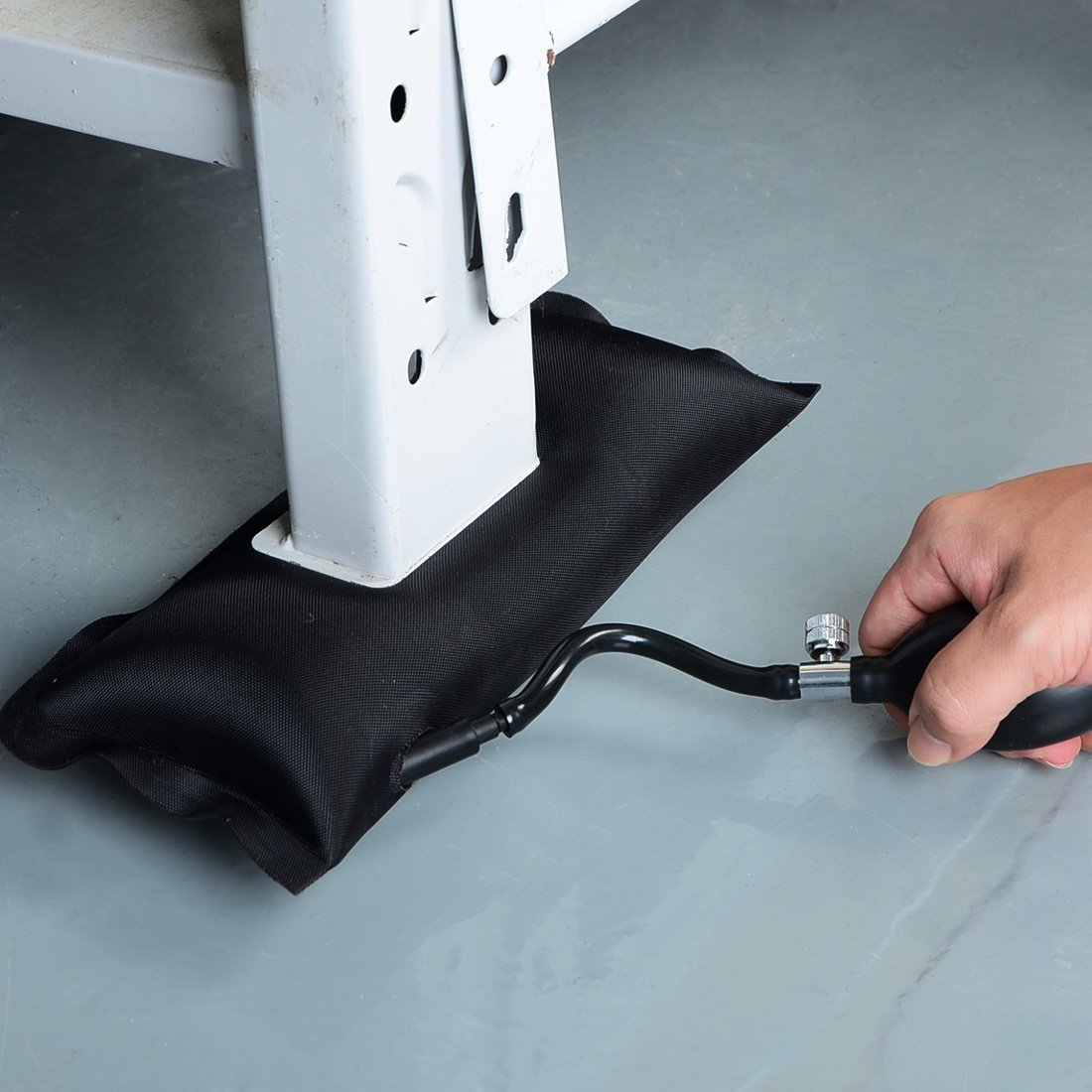 URXTRAL Pompa ad aria per finestrini 2pcs sportelli auto,Utensili Hand Tools Ammortizzati Aria