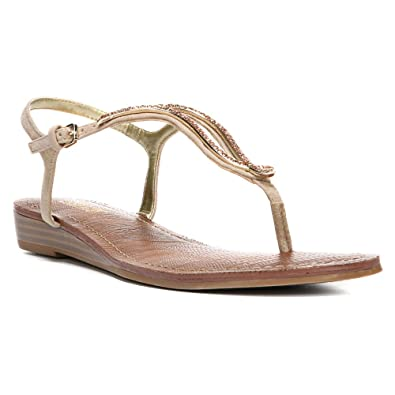 Womens Sandals CARLOS by Carlos Santana Tindra Kork