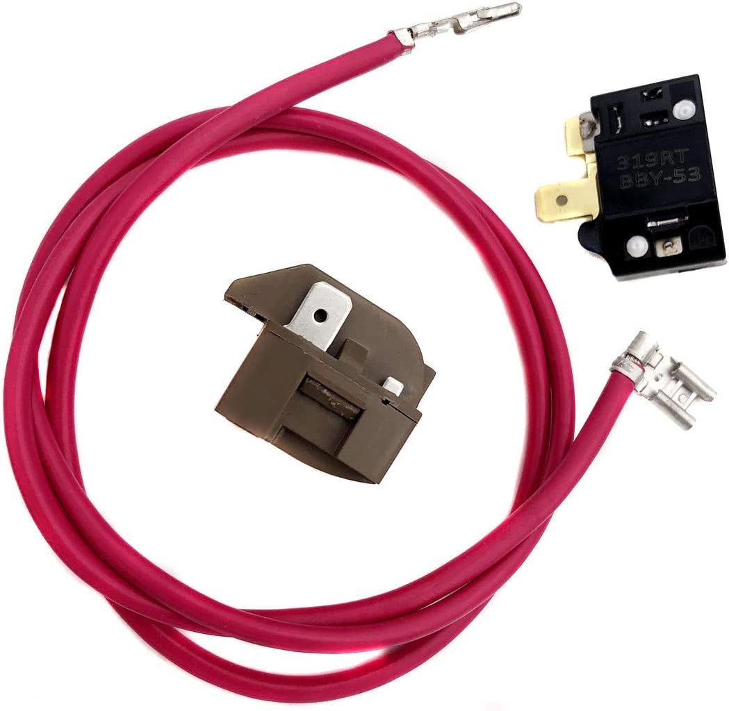 Compressor Relay Overload Kit Replacement for Part# 4387535 14210139 2154760 - Fit for Whirlpool,Maytag,KitchenAid Refrigerators - Replaces 2159596 4357210 4387767 586234 AH371273 AP3108472 EA371273 P