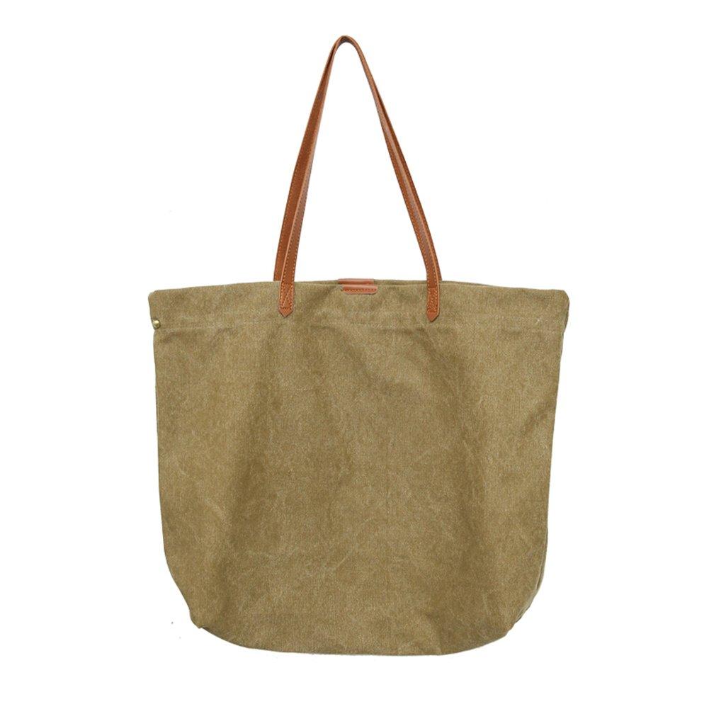 New Buckle Detail Faux Leather Ladies Large Shopper Shoulder Bag