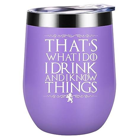 Amazon.com: Eso es lo que hago, bebo y sé cosas | GoT House ...
