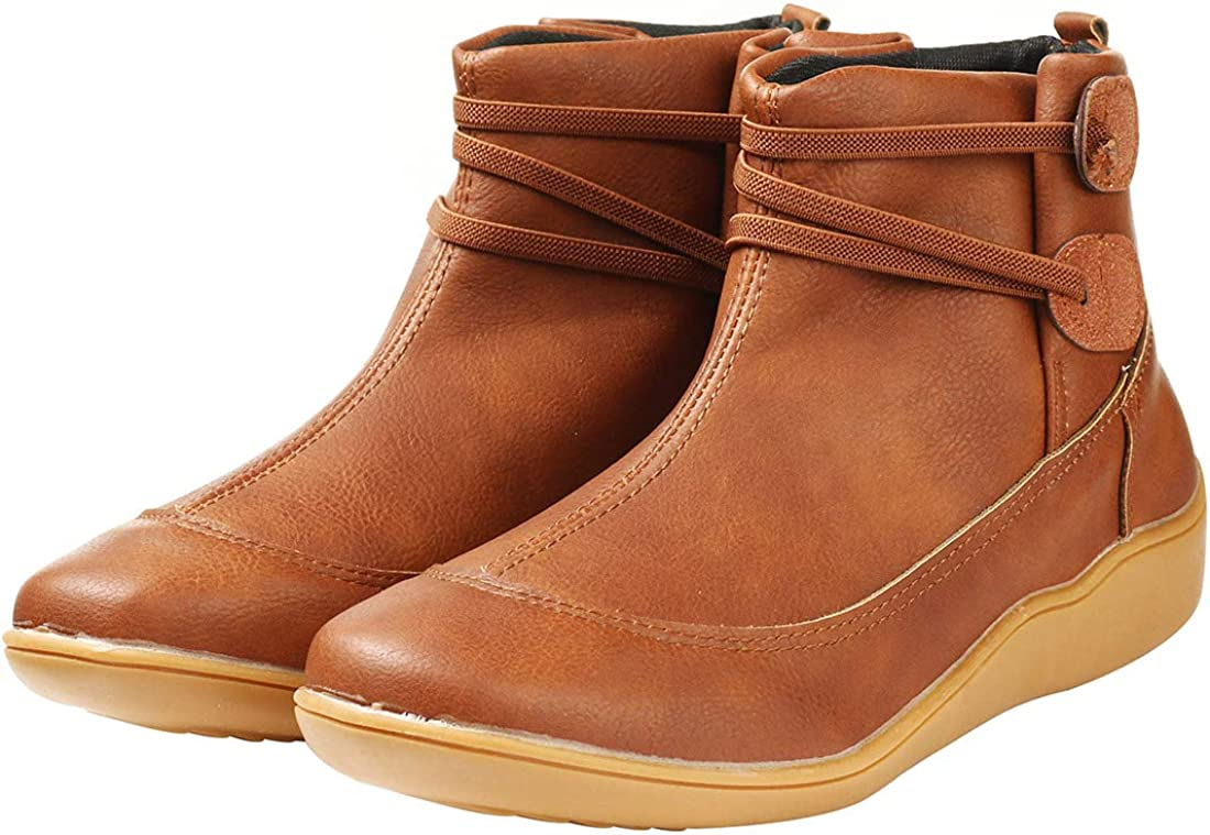 Gets Womens Ankle Boots Waterproof Cofy
