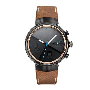Kartice pour Asus ZenWatch 3 Band, vintage Cuir véritable Smart Bracelet de montre bracelet de