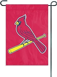 WinCraft MLB St. Louis Cardinals WCR21281012 Garden Flag, 11