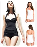 Show Sexy siamois Triangle noir mince mode explosif une pièce maillots de bain