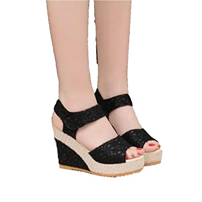 f7cf2f10882b Image Unavailable. Image not available for. Color  Perfect-Sense-Show Size  35-40 Women Sandals 2017 Summer New ...