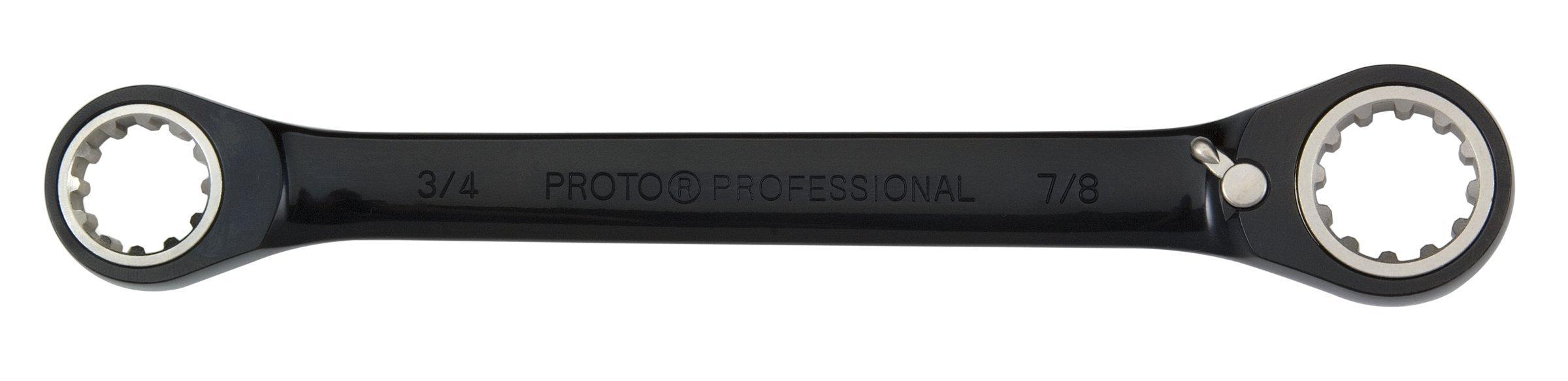 Stanley Proto JSBV0810 Double Box Racheting Spline Wrench 1/4 X 5/16 by Proto