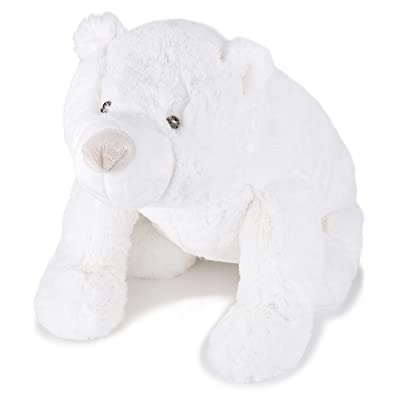 JOON Shiro The Polar Bear Cub, White, 13.5 Inches: Toys & Games