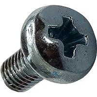 AERZETIX: 100x Pernos roscados con cabeza cilindrica M3x6mm