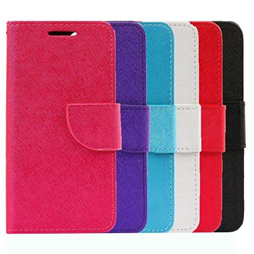 Mobile protection Para el iPhone 7 más la textura de la cruz Texture la caja de cuero horizontal con el sostenedor y las ranuras para tarjeta y la carpeta, pequeña cantidad recomendada antes del lanza White