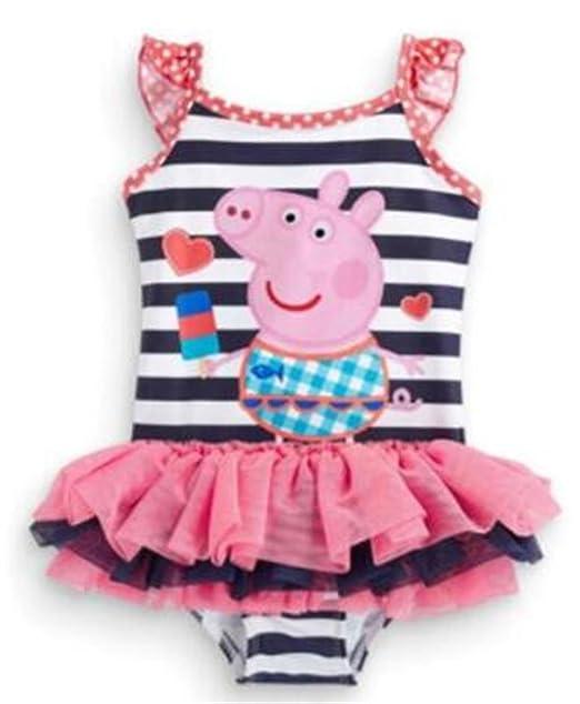 Amazon.com: luckb para bebé niña Princesa bañadores Kids ...