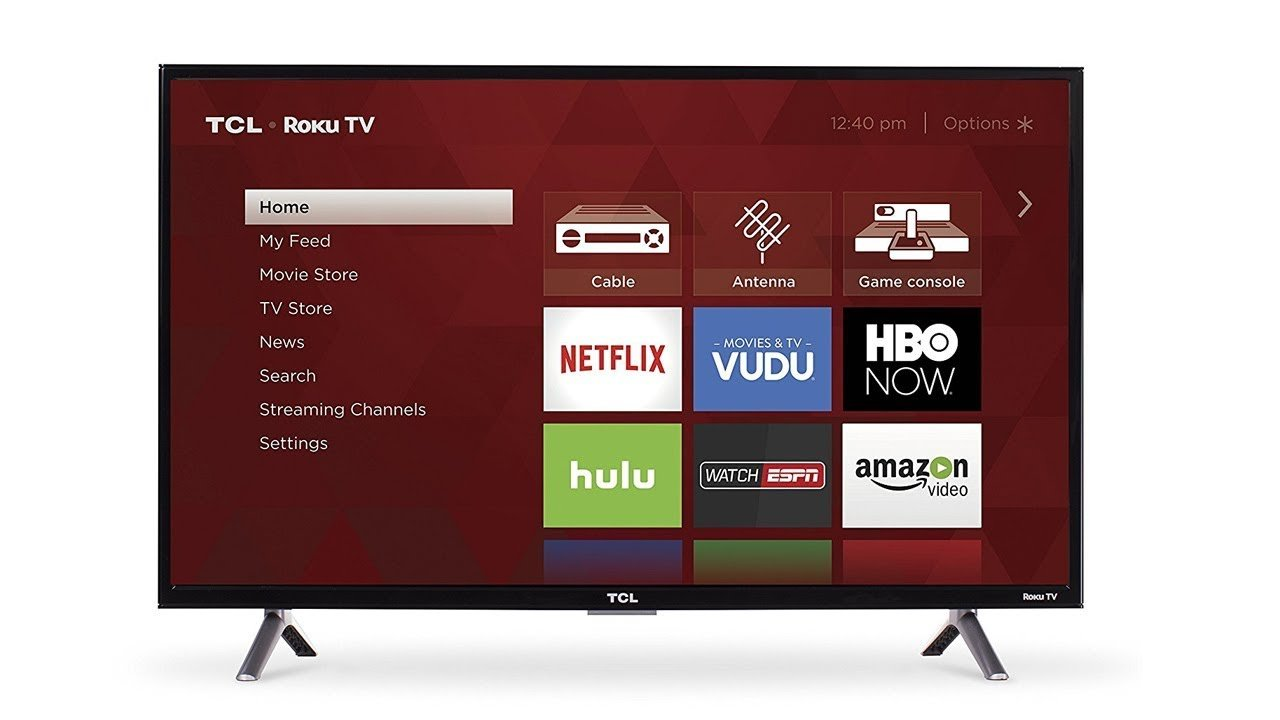 TCL 32S4 32-Inch Smart LED TV (2017 Model) HD Ready